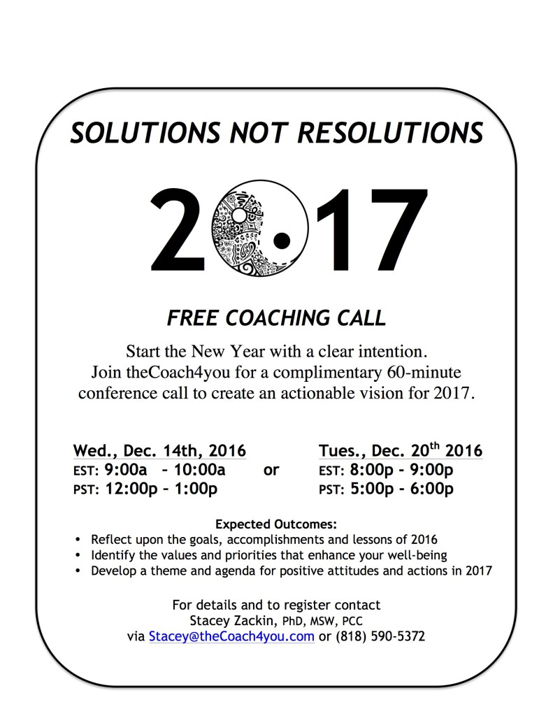 SOLUTIONS NOT RESOLUTIONS 2017 jpg